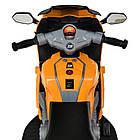 Детский мотоцикл M 4082-7 оранжевый, фото 6