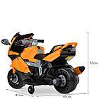 Детский мотоцикл M 4082-7 оранжевый, фото 5