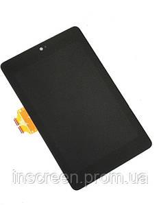 Экран (дисплей) Asus Google Nexus 7 2012 (1gen) ME370 с тачскрином (сенсором) черный