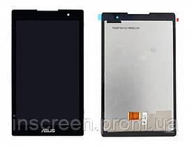 Экран (дисплей) Asus ZenPad C Z170C Wi-Fi, Z170CG 3G (P01Y) с тачскрином (сенсором) черный