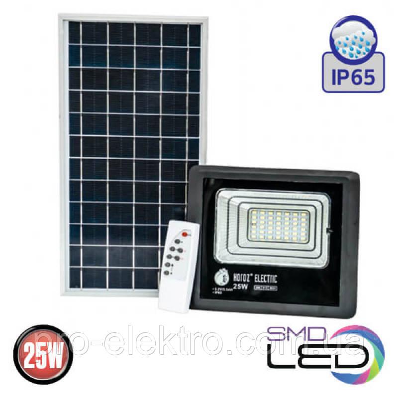 TIGER-25 Прожектор на солнечной панели IP65 SMD LED 25W 6400K 465Lm (068-012-0025-010)