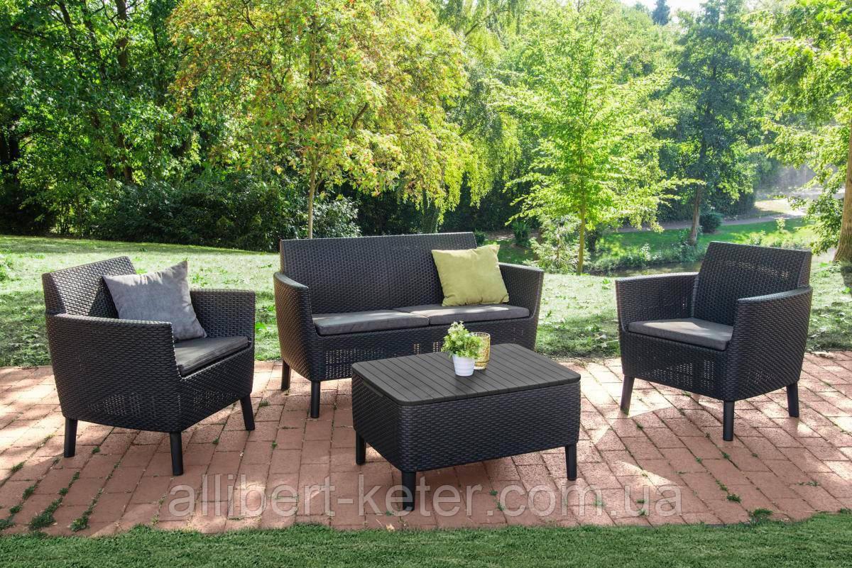 Комплект садових меблів Keter Salemo Lounge Set