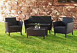 Комплект садових меблів Keter Salemo Lounge Set, фото 6