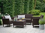 Комплект садових меблів Keter Salemo Lounge Set, фото 8