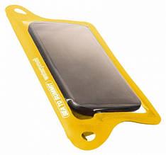 Чехол водонепроницаемый для смартфона Sea to Summit TPU Guide W/P (85х148мм), желтый