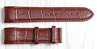 Ремешок для часов Tissot из натуральной кожи. Коричневого цвета 22 мм, фото 1