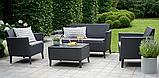 Комплект садових меблів Keter Salemo Lounge Set, фото 10
