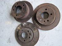 Тормозные диски задние (оригинал) на Мерседес Вито (Mercedes Vito) двигатель  2.3 ТDI, 2.2 CDI  638, 639