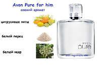 Туалетна вода для чоловіків Avon Pure
