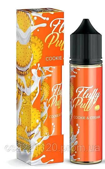 Fluffy Puff Creamy Cookie (0 мг\мл) 60 мл.