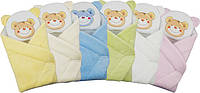 """Конверт - одеяло для новорожденного с подушкой  махровый (салатовый) """"Duetbaby"""""""