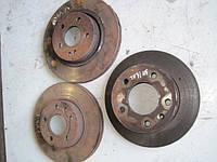 Тормозные диски передние (оригинал) на Мерседес Вито (Mercedes Vito) двигатель  2.3 ТDI, 2.2 CDI  638, 639