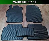 ЕВА коврики на Mazda 6 GH '07-12. Ковры EVA Мазда 6