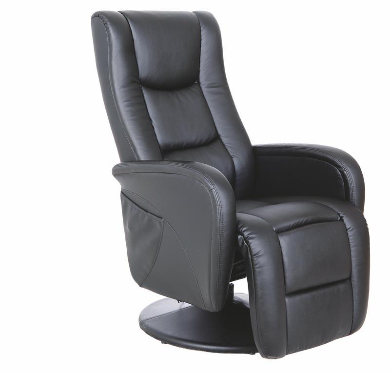 Кресло раскладное PULSAR черный с массажной функцией(Halmar)