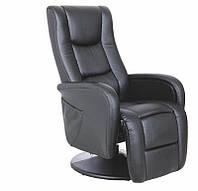 Кресло раскладное PULSAR черный с массажной функцией(Halmar), фото 1