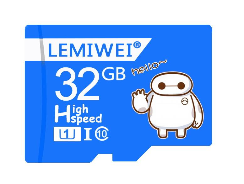 Карта пам'яті LEMIWEI Micro SD 32 Gb