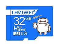 Карта пам'яті LEMIWEI Micro SD 32 Gb, фото 1