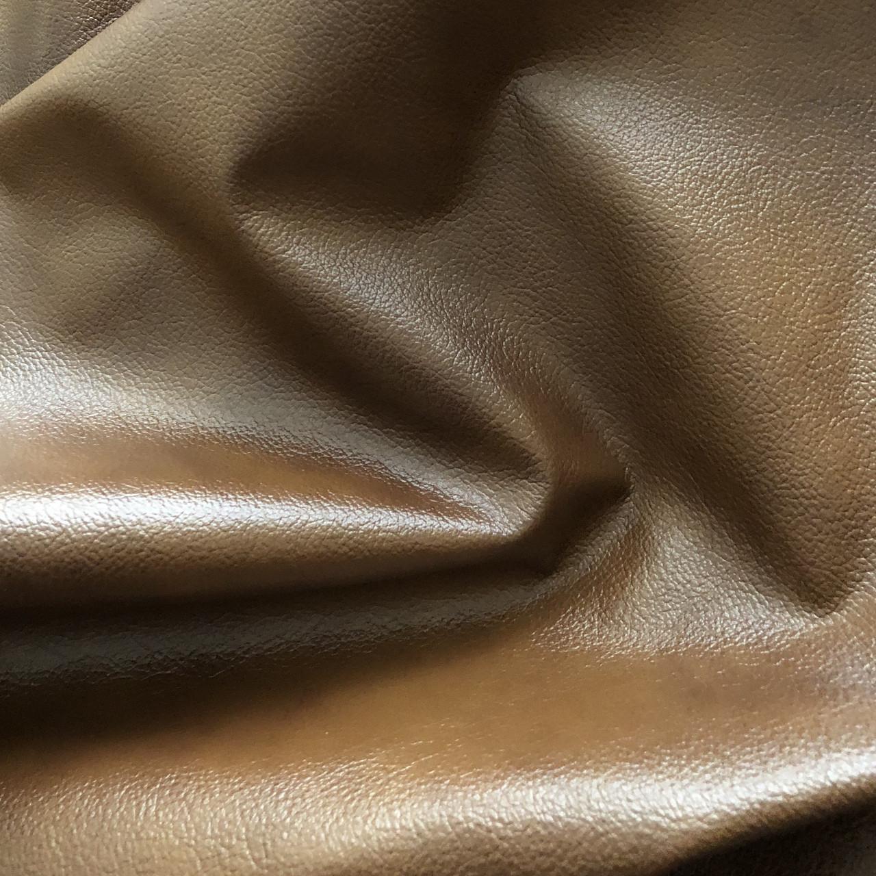 Мебельная кожа. Коричневый антик
