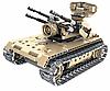 Детский конструктор радиоуправляемый QiHui Зенитный танк 457 деталей 8012, фото 6