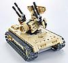 Детский конструктор радиоуправляемый QiHui Зенитный танк 457 деталей 8012, фото 2