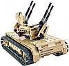 Детский конструктор радиоуправляемый QiHui Зенитный танк 457 деталей 8012, фото 3