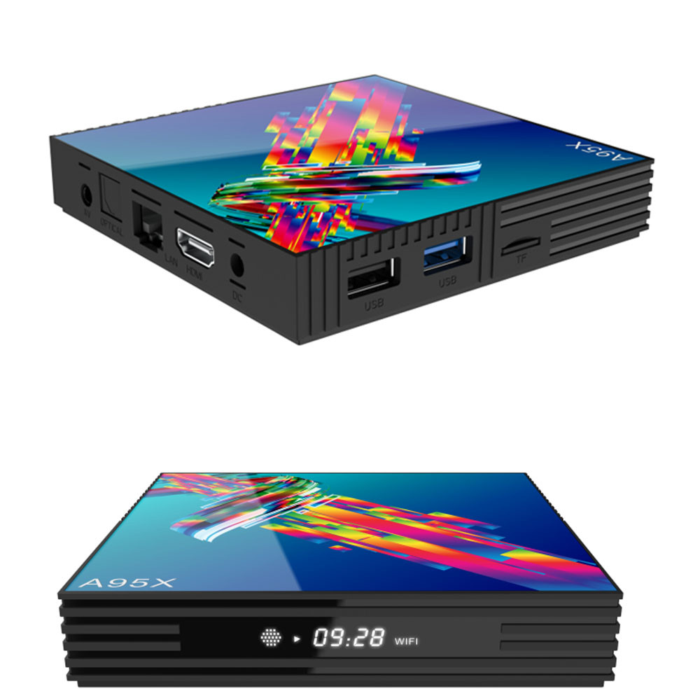 А95x R3 4K смарт тв приставка андроид 9.0 2G/16G