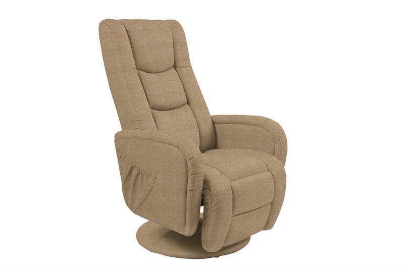 Кресло раскладное PULSAR 2 бежевый с массажной функцией (Halmar)