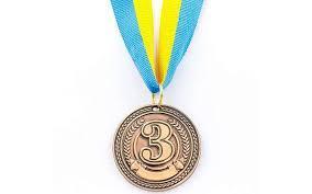 Медаль спорт d-4,5см C-6406-3 бронза CELEBRITY (20g, на ленте)