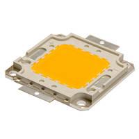 Светодиодная матрица LED 50Вт 560-600nm, желтый