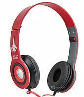 Наушники Shuer Kusen KS-611 с микрофоном Red