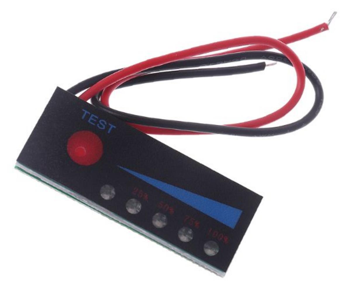 Индикатор емкости 4S 16,8В светодиодный