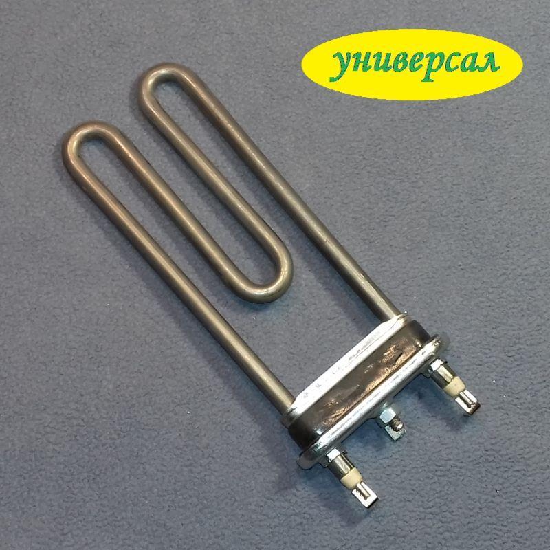 ТЭН 1800W / L=170 мм для стиральной машины с метал. баком (без отверстия / бурт) Турция