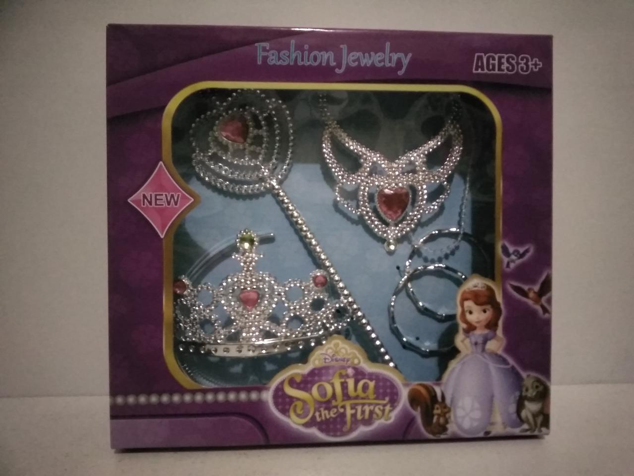 Набор игрушечный София. Игрушечный набор для девочек корона.