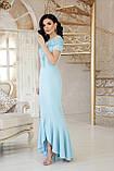 Платье вечернее длинное голубое Наоми, фото 2