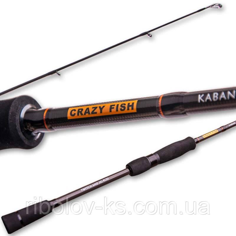 """Спиннинг Crazy Fish Kaban KB692H-T (12-45g 209cm 6'9"""" 10-22lb)"""