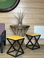 Стулья и табуреты в стиле LOFT. Каркас из металла для стула.