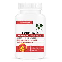BURN MAX для похудения (жиросжигатель) Powerful fat Burner 4in1 En`vie Lab (100 caps)