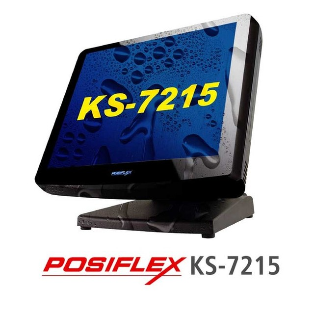 POS терминал Posiflex KS-7215G - Topscan.com.ua — электронное торговое оборудование в Киеве