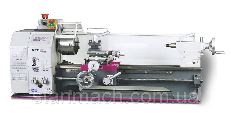 OPTIturn TU 2506 (230V) без вариатора | Настольный токарный станок по металлу, фото 2