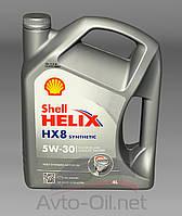 Моторное масло Shell Helix HX8 5w30 4l, фото 1