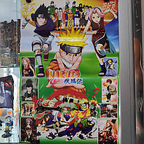 Аніме плакат Наруто \ Naruto (62 х 41 см)