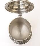 Пивной оловянный бокал с шикарным сюжетом, пищевое олово, Германия, 600 мл, фото 8