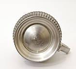 Пивной оловянный бокал с шикарным сюжетом, пищевое олово, Германия, 600 мл, фото 9