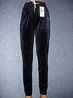 """Штаны женские """"Kenalin"""". Велюр. р. 3XL-4XL. Синие., фото 1"""