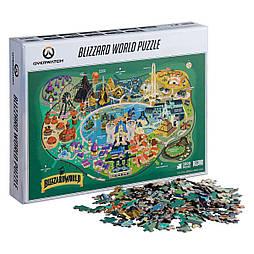 Пазл Overwatch Blizzard World 1000-Piece Puzzle