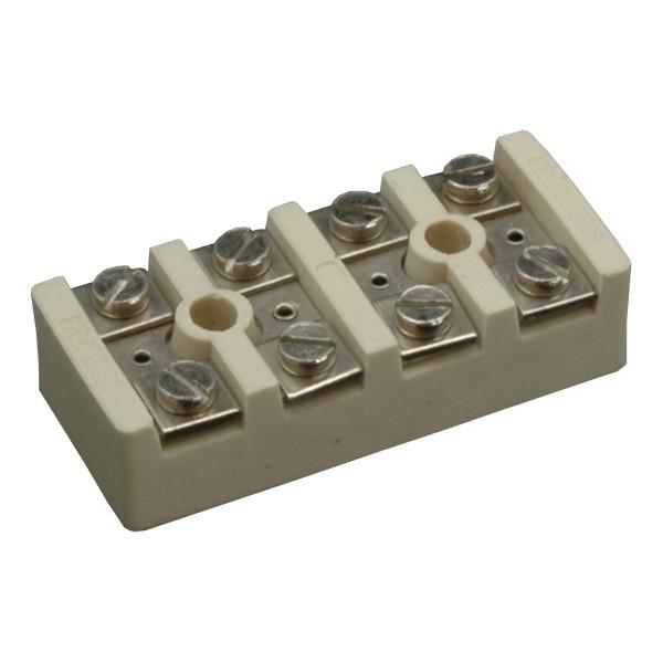 Клеммная колодка керамическая SEZ 6353-30 20A 4х4мм2