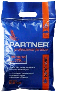 Комплексное удобрение Партнер (Partner Stnadart) 35.10.10 + ME, 2,5 кг