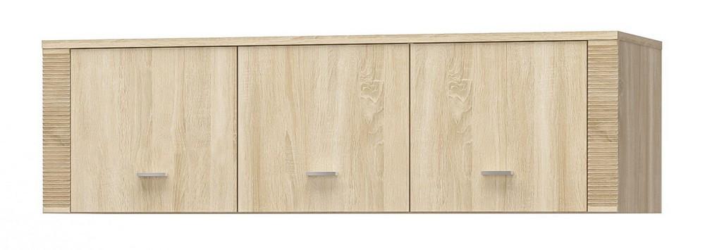 Надставка шкафа Гресс 3Д/3Ш дуб самоа