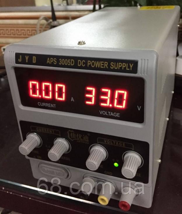 Универсальный лабораторный блок питания 30В 5А трансформаторный Блок живлення лабораторний