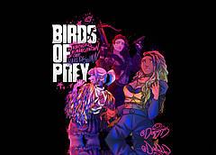 Картина GeekLand Хищные птицы Арт главные героини Birds of Prey 60x40 BOP 10.01